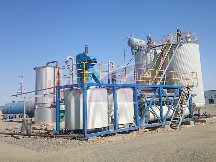 20吨移动式改性沥青设备