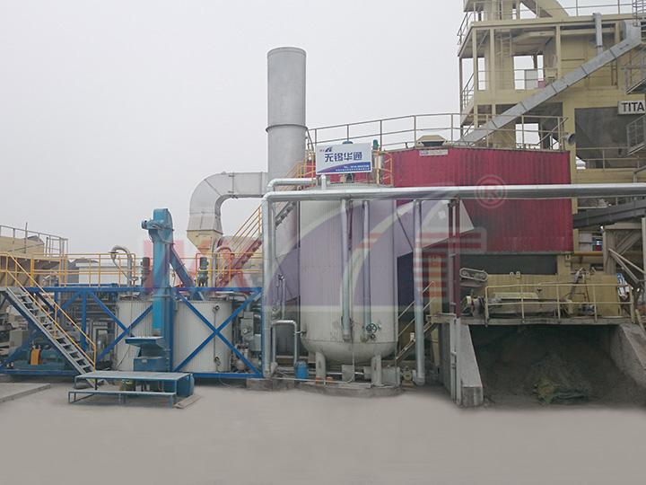 苏州三创15吨移动一体式改性沥青设备